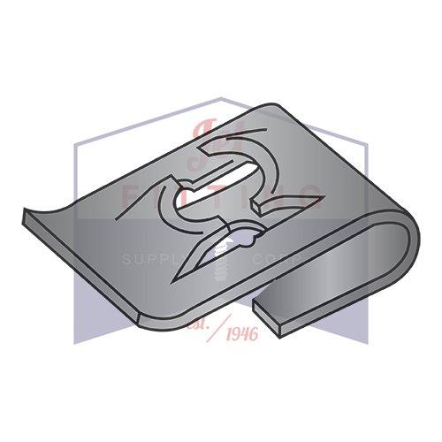 QUANTITY: 2000 Speed Nuts Black Phosphate   Steel C8042-8-4 C8019-632-4 Tinnerman Style J-Type Spring Nuts