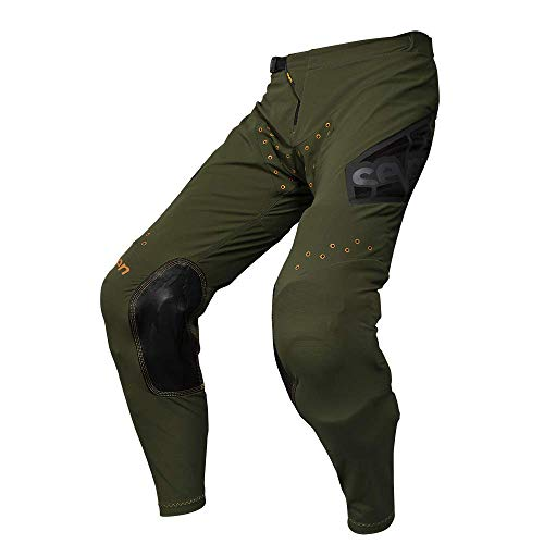 Seven 2019 Youth Zero Pants - Victory (28) (OLIVE)