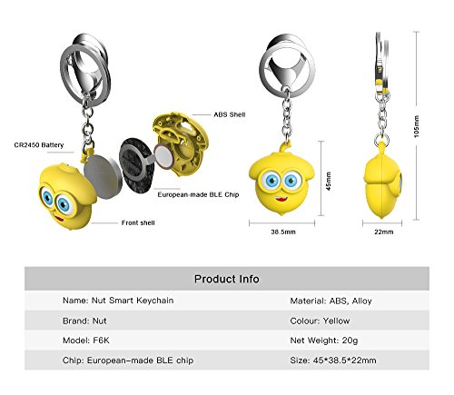 Nut Smart Keychain - The specialist Bluetooth key finder and phone finder, disconnection alarm make the key easy find never forget. by Nut (Image #8)