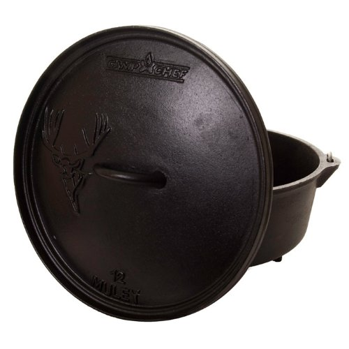 Camp Chef Deep Big Horn 12IN Dutch Oven One Size