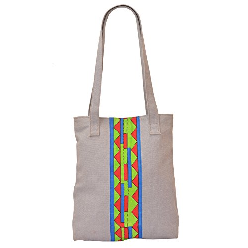 Price comparison product image HammerCoal Trendy Cotton Casual Tote Bag for Girls And Women BAG-448