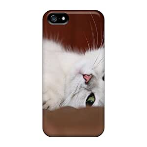 Kgv38215FvNu Anti-scratch Cases Covers Luoxunmobile333 Protective White Cat Cases For Iphone 5/5s