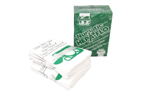 Numatic NVM-1CH Numatic Henry and James Cleaner Bags, Pack of - Walnut Creek Shopping