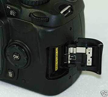 Tapa para puerta de tarjeta de memoria SD para Nikon D90 con ...