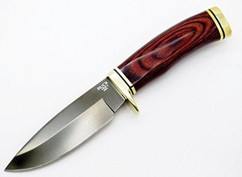 Buck 192 Vanguard Black Titanium Coated S30v Fixed Blade