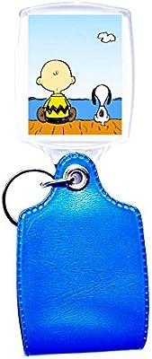 Llavero azul Snoopy: Amazon.es: Hogar