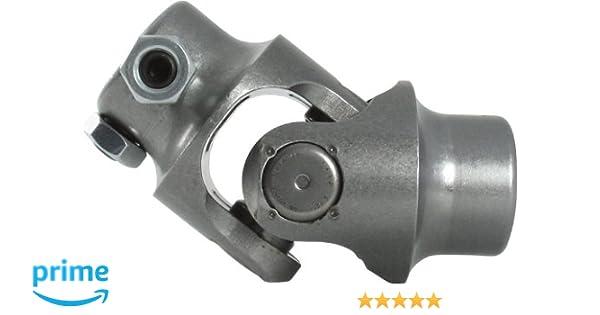 "12/"" Steering Shaft 1/"" DD X 3//4/"" DD Chrome Steel Double Steering U Joint Coupler"