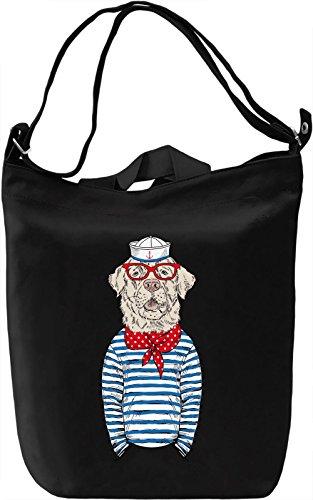 Sailor dog Borsa Giornaliera Canvas Canvas Day Bag  100% Premium Cotton Canvas  DTG Printing 