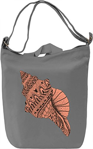 Shell Borsa Giornaliera Canvas Canvas Day Bag| 100% Premium Cotton Canvas| DTG Printing|
