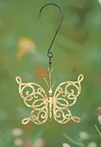 Small Yellow Scroll Dragonfly Hanger