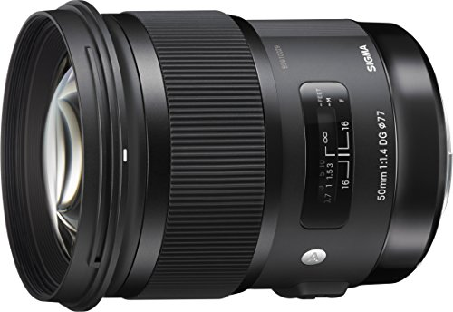 Sigma 50mm F1.4 Art DG HSM Lens