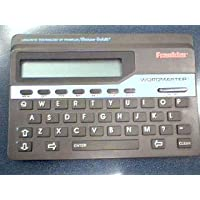 Franklin Electronic Publishers, Inc. Franklin Wordmaster Deluxe Model WM-1055A