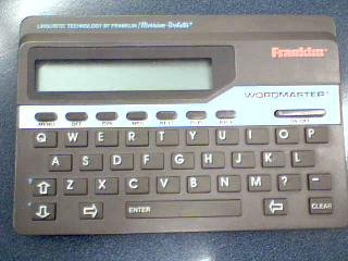 Franklin Electronic Publishers, Inc. Franklin Wordmaster Deluxe Model WM-1055A by Unknown