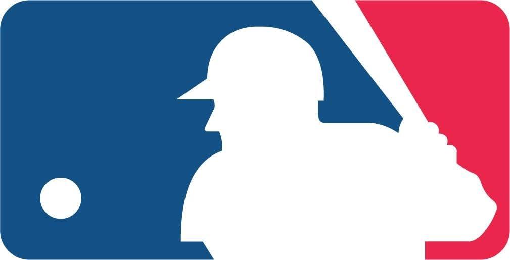 - MLB Logo Baseball Sport Decal 14'' X 7''