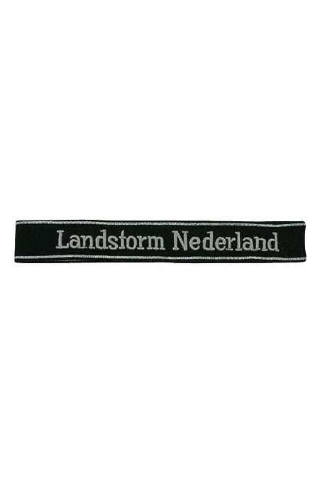 EM//NCO right collar tab Elite Landstorm Nederland Div
