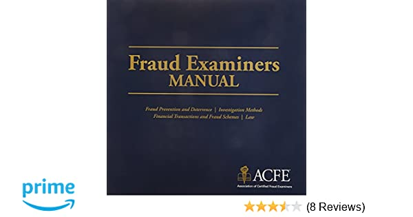Fraud Examiners Manual Pdf