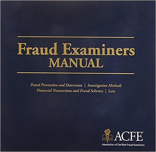 Fraud Examiners Manual: Association of Certified Fraud ...