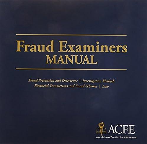 fraud examiners manual association of certified fraud examiners rh amazon com Fraud Training Basic Duties of Fraud Examiners