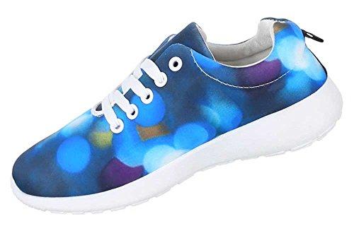 Damen Schuhe Freizeitschuhe Sneaker Slipper Blau
