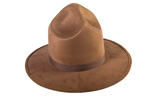 Forum Novelties Party Supplies Unisex-Adults Extra Tall Mountie Hat, Brown, Standard, Multi ()