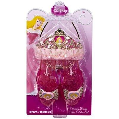 Disney Princess Sleeping Beauty Shoes & Tiara Set -