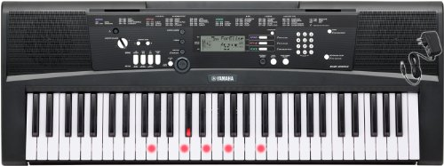 Yamaha EZ220AD 61 Key Portable Keyboard