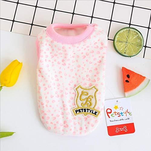Mini Dog Vest Spring Summer Newborn Puppy Tiny Clothes for Kittens Pet Milk Dog Shirt Vest XXS XS for Teacup