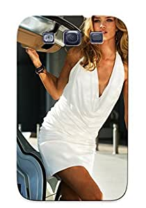High Impact Dirt/shock Proof For SamSung Note 4 Case Cover (rosie Huntinn Whiteley In Transformers 3 )