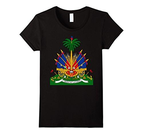 Haitian Coat Arms Emblem T Shirt product image