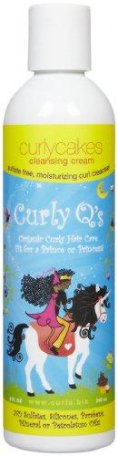 Кудри Curly Q в Curlie Cutie Очищающий крем - 8 эт. унция