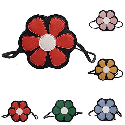 Sac Enfants Purse Pour Lovely Pattern Bag À Mini Red Coafit Crossbody Flower Bandoulière nqP1HgA44