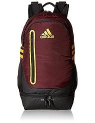 adidas Unisex Pivot Team Backpack, Maroon/Collegiate Gold, On...