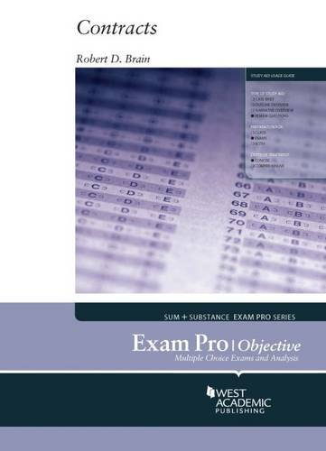 Exam Pro on Contracts, Objective (Exam Pro Series)