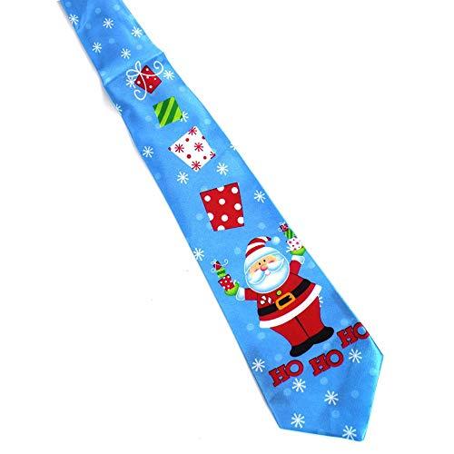 Silverdrew Imprimir Corbata de Navidad Corbatas de Seda para ...