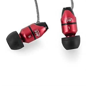 MEElectronics M31-RD In-Ear Headphones for iPod, iPhone, MP3/CD/DVD Players (Red)