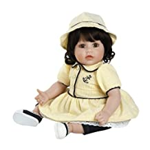 """Adora Toddler Anchors Away 20"""" Girl Weighted Doll Gift Set for Children 6+ Huggable Vinyl Cuddly Snuggle Soft Body Toy"""