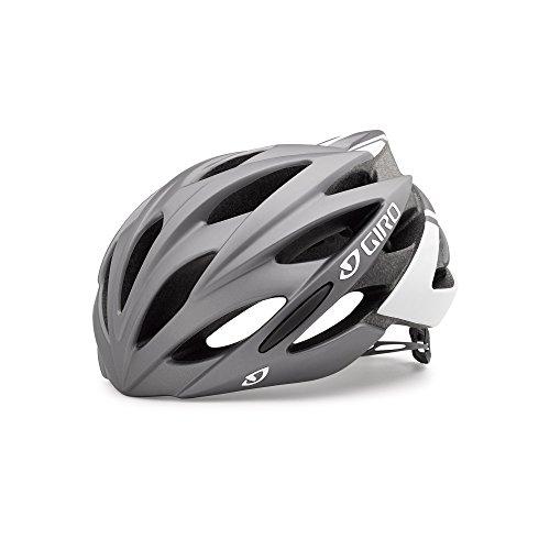 Giro Savant MIPS Matte Titanium White Road Bike Helmet Size