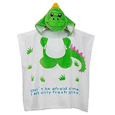 Funkeet Hooded Bath Towels for Kids Poncho Beach Towel Cotton Bathrobe
