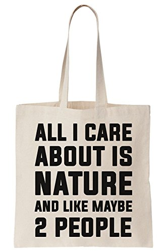 2 People Natureq Is Care Canvas All Bag About And Maybe I Like Tote 1qzxp8