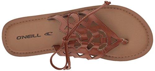 Sandalias Sarafina para Chancletas Bronceado Mujer O'Neill 5Yxw7qw