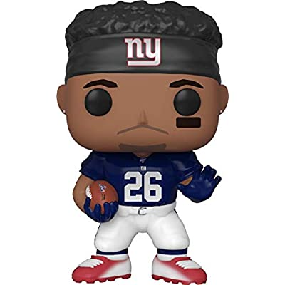 Saquan Barkley New York Giants Pop Sports NFL Vinyl Figure (Bundled with Ecotek Pop Protector): Toys & Games