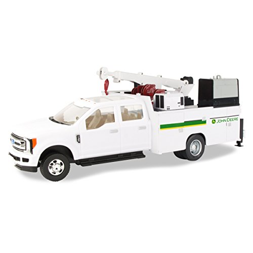 (John Deere 1/64 Scale Ford F-350 Service)
