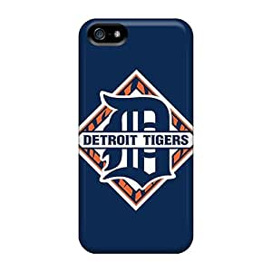 Iphone 5/5s Case Bumper Tpu Skin Cover For Baseball Detroit Tigers Accessories