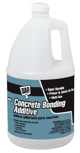 Concrete Bonding Additive - Dap 2132 Concrete Bonding Additive, 1 Gal, Bottle, Liquid, Gallon, White