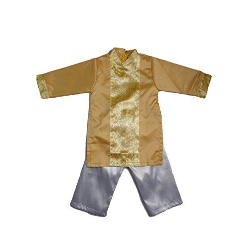 - 195 Designs Yellow Ao Dai Baby Boy - Ao Dai Gam
