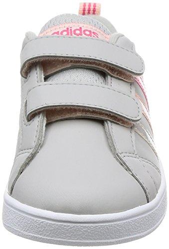 unisex Adv Inf Supros bambino grigio Sneakers Adidas griglia Vs Cmf Roshel AnCqSxWWpw