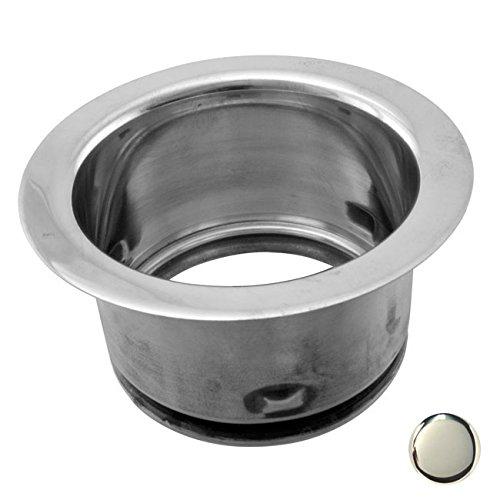 Westbrass D2101-05 Deep Waste King 3-Bolt Mount Flange - Polished Nickel