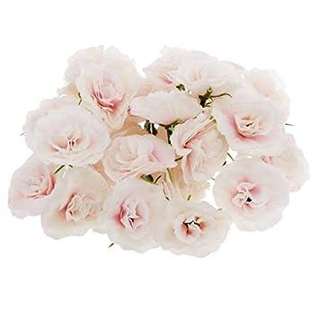 Amazon.com: ShineBear - 50 rosas artificiales de seda con ...
