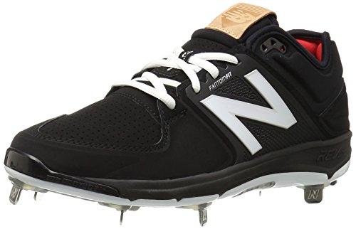 New Balance Men's L3000V3 Baseball Shoe, Black/Black, 10 D US