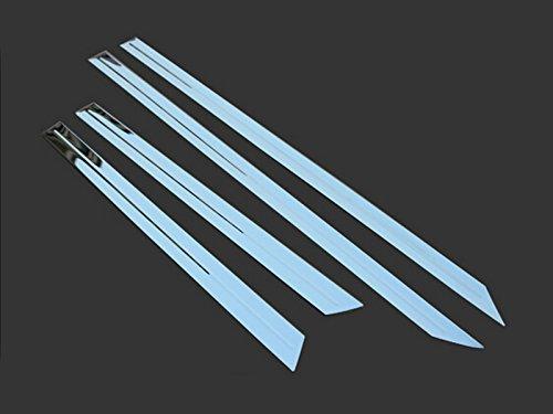 HIGH FLYING f/ür XC60 2009-2013 Gl/änzend Exterieur T/ür Dekor Stylingleisten Edelstahl 4-er Set